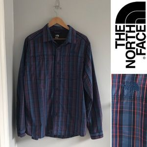 THE NORTH FACE Plaid Buttons Down Shirt
